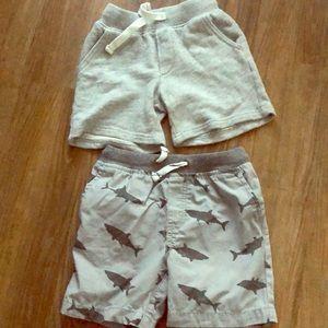 Carter's Boys Shorts (2 of them)